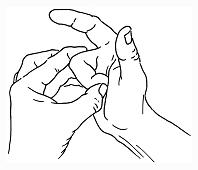 Buigpees oefening